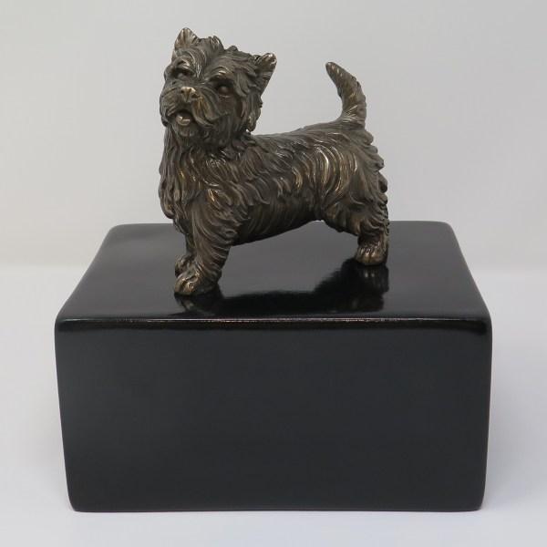 West Highland Terrier Urne Designurne