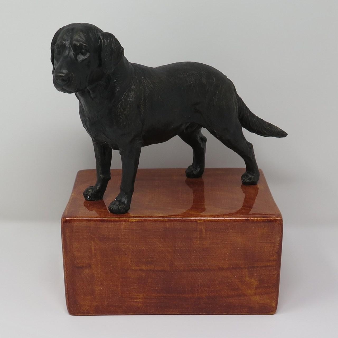 Labrador Urne, stehend