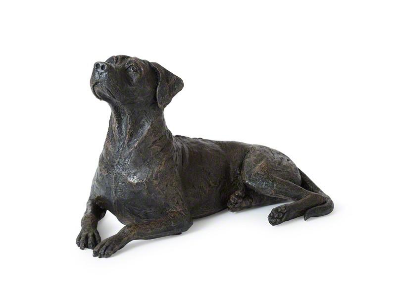 Verschiedene Skulptururnen Hund