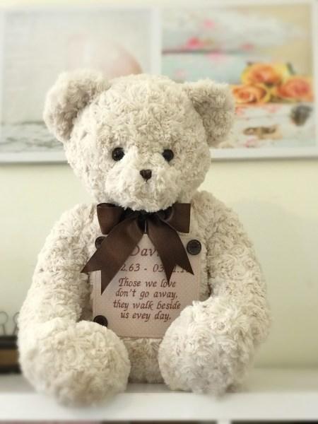 """Teddybärurne """"Large"""""""