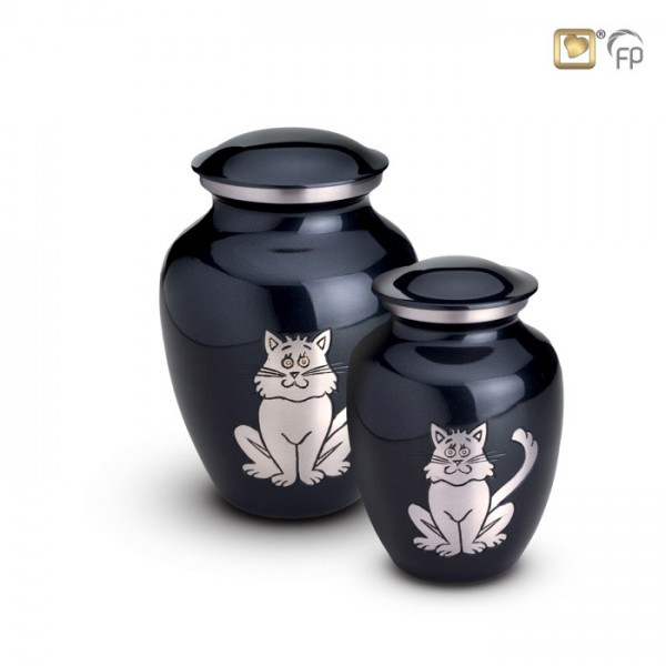 Klassische Katzenurne