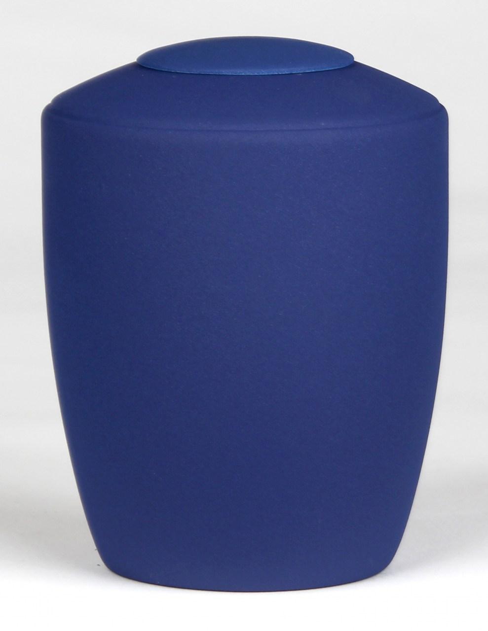 Tierurne mit Teelicht Kobaltblau in 1,5 Liter