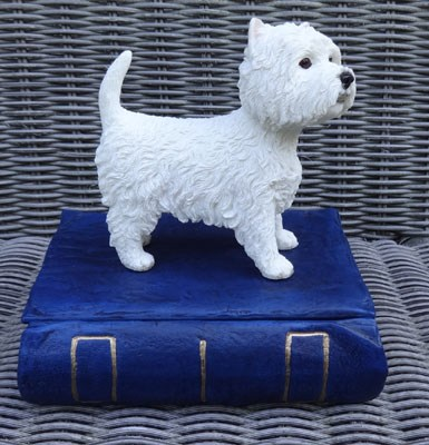 West Highland Terrier Urne Buch