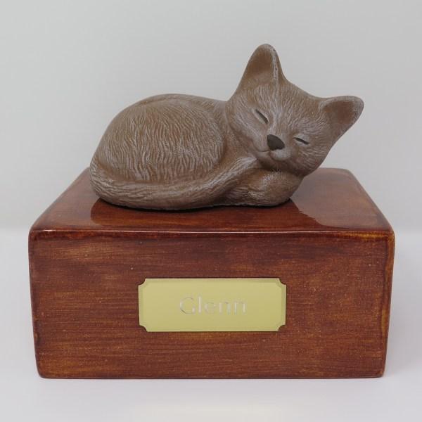 "Katzenurne ""Stonecat"" Braun-Sandel"