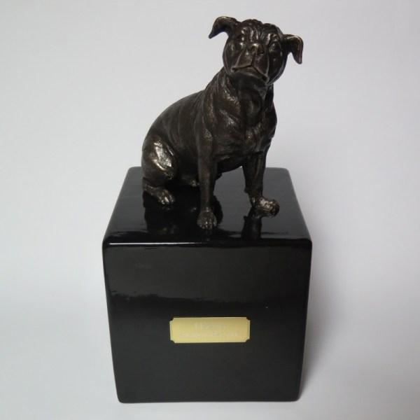 Staffordshire Terrier Designurne