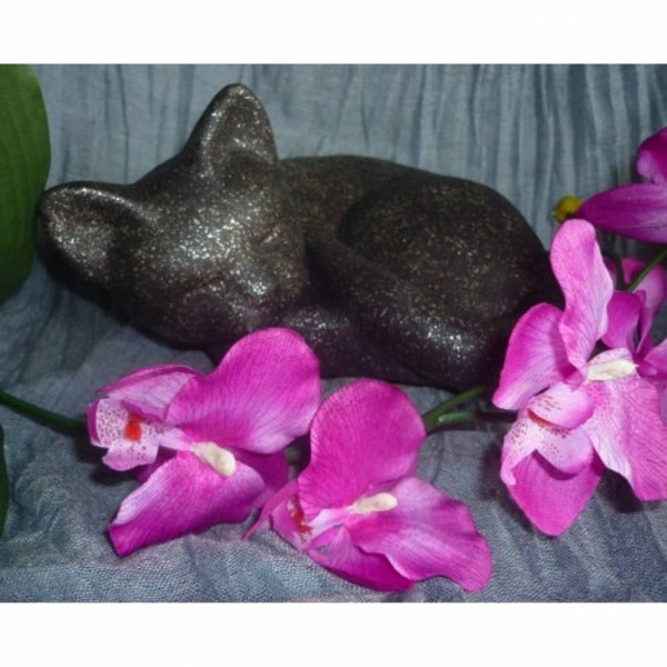 "Katzenurne ""schlafende Katze Blacky"""
