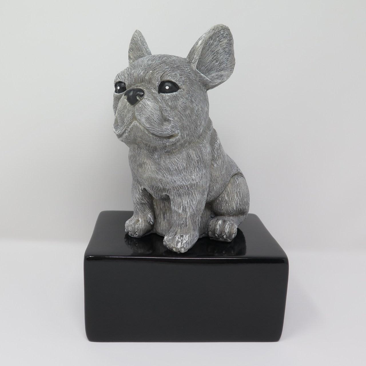Französische Bulldogge Urne