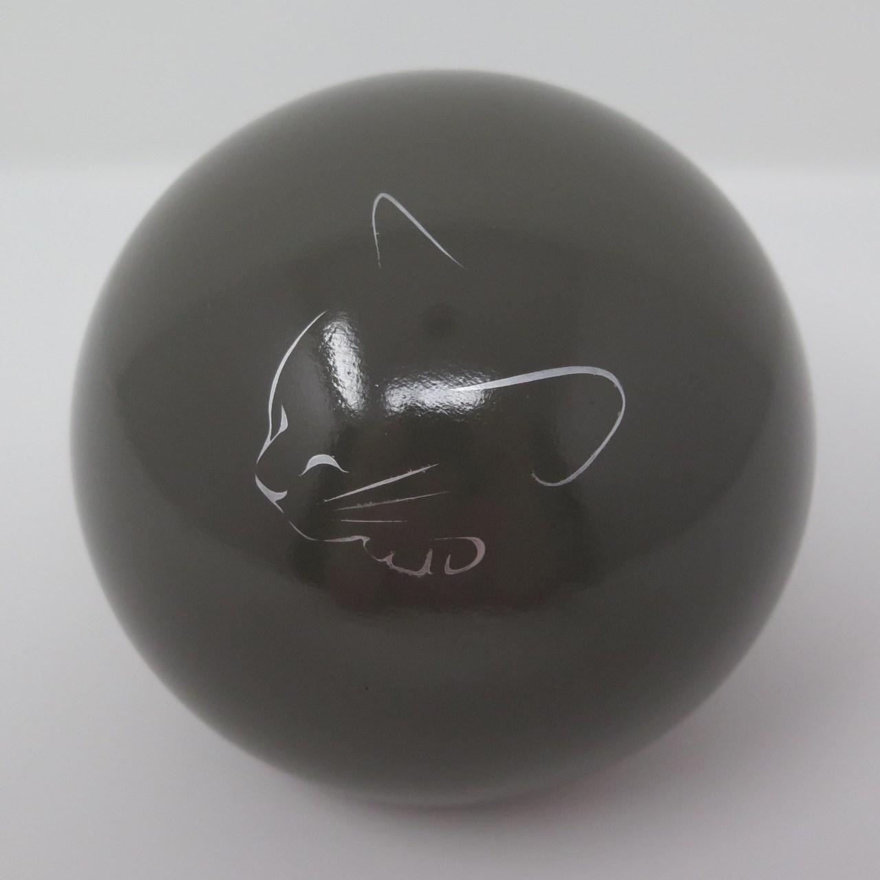 """Tierurne Kugel """"schlafende Katze"""" in vielen Farben"""