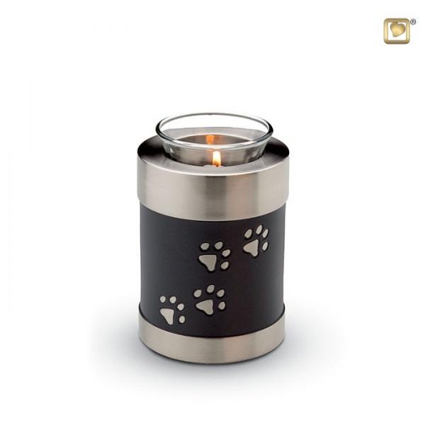 Messingurne mit Teelicht CHK655
