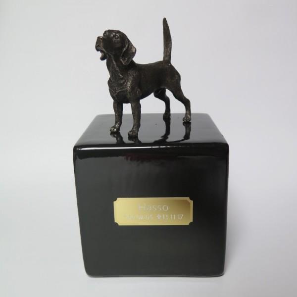 Beagle Designurne