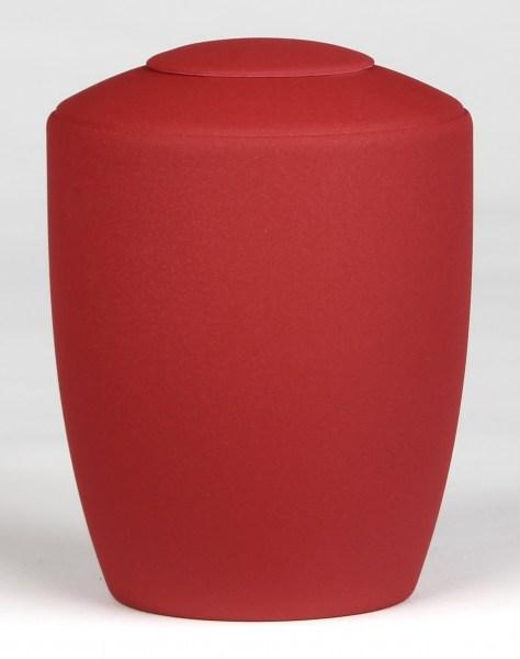 Tierurne mit Teelicht Rot in 1,5 Liter
