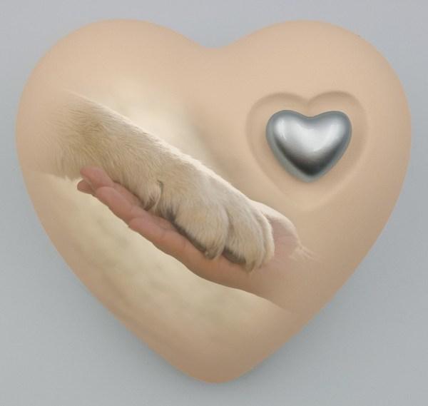 """Hundeurne Herz """"Freundschaft"""""""